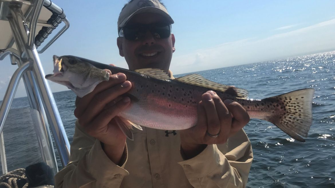 Speckled Trout Fishing In Mobile Bay