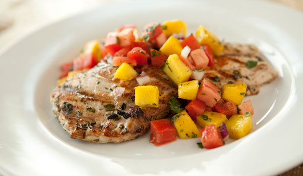 Grilled Snapper Mango