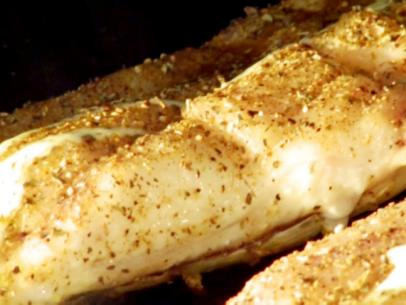 Redfish on the Half-Shell with Lemon-Butter Lump Crabmeat Sauce
